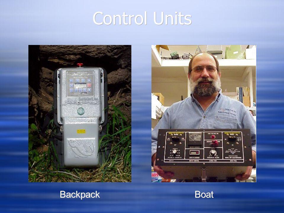 Control Units Backpack Boat