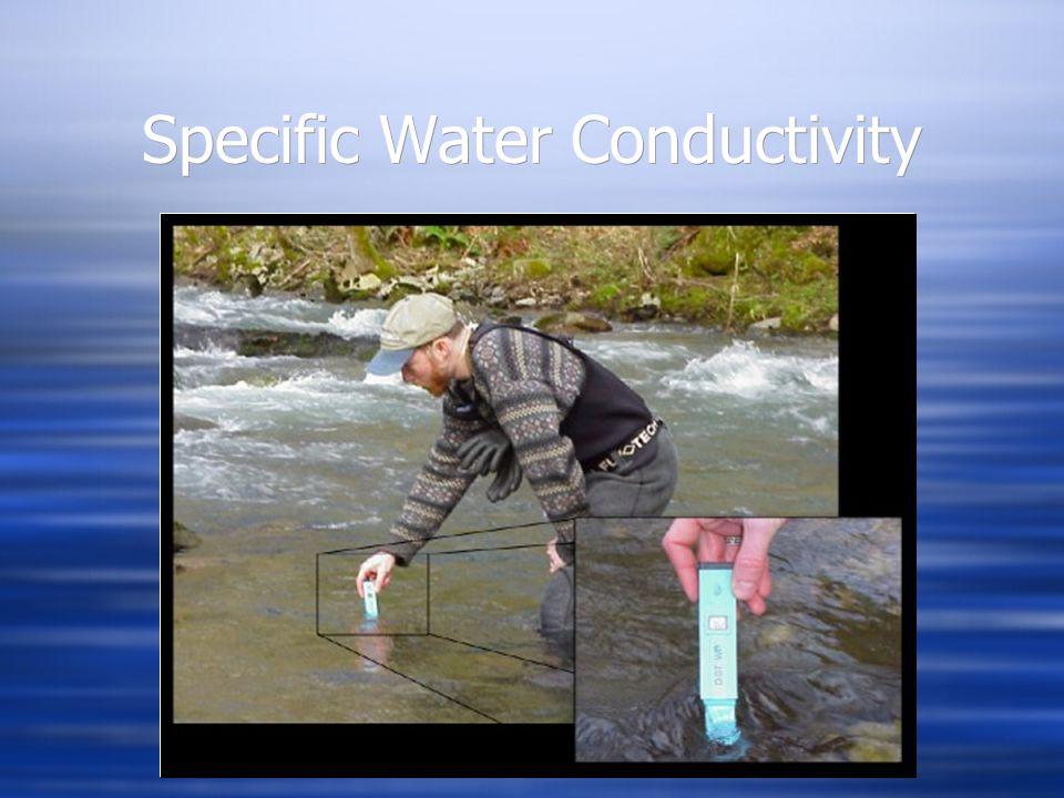 Specific Water Conductivity