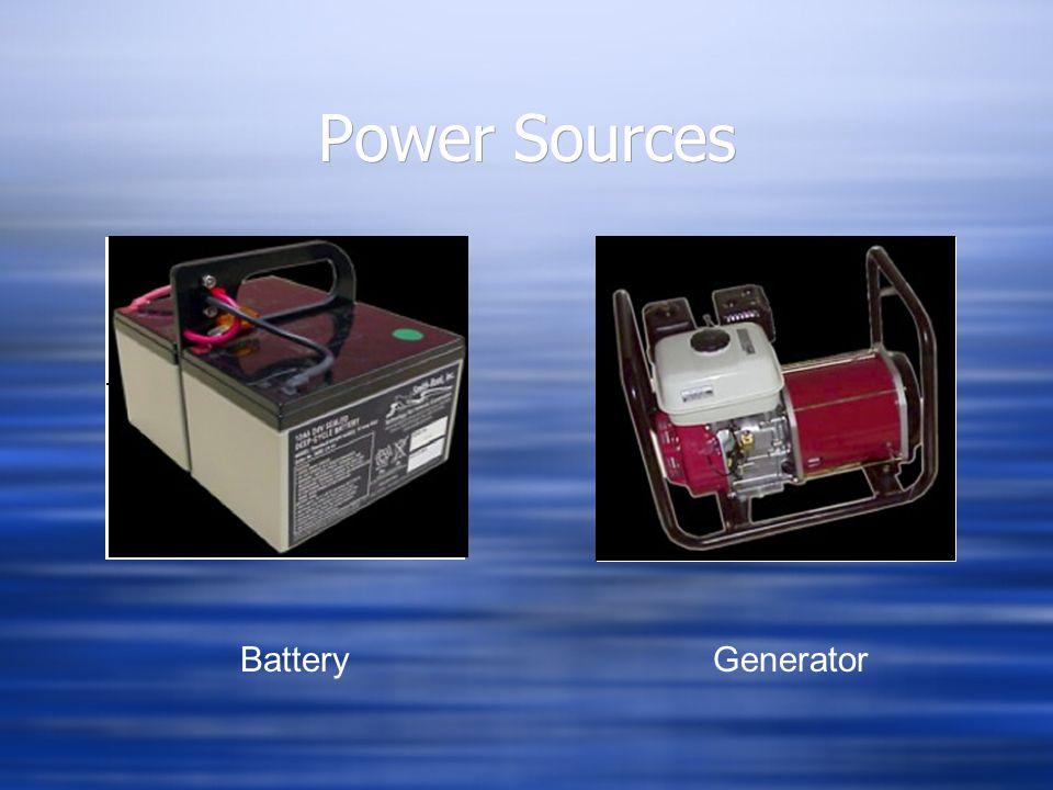 Power Sources BatteryGenerator