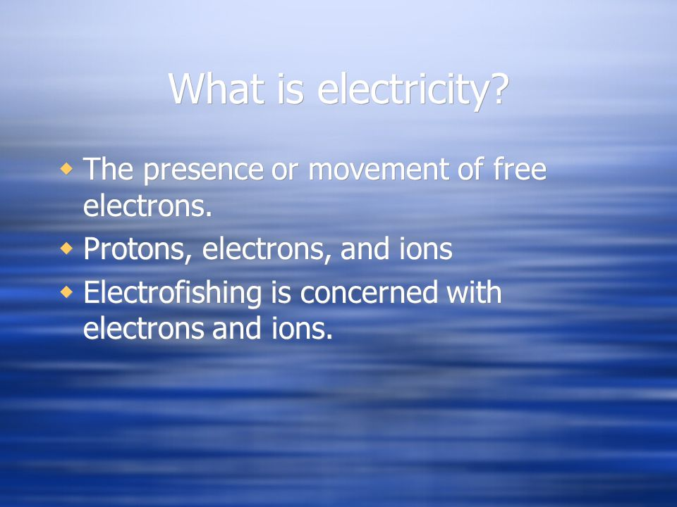 Effects of Electrical Current on the Human Body 1 milliampJust a faint tingle.
