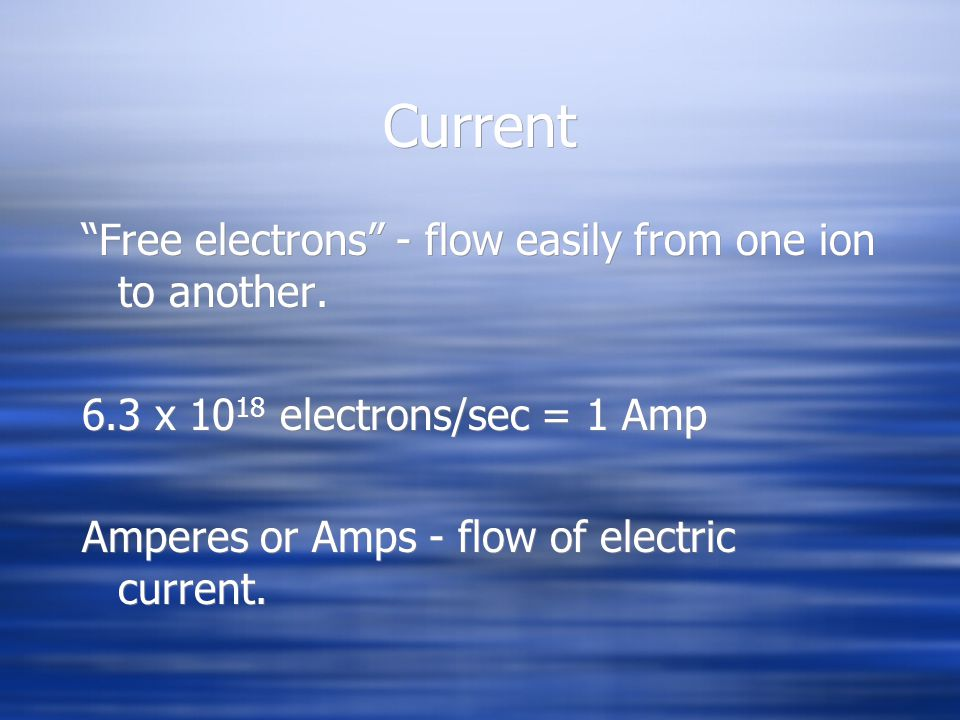 Review How do changes in water conductivity affect power requirements.