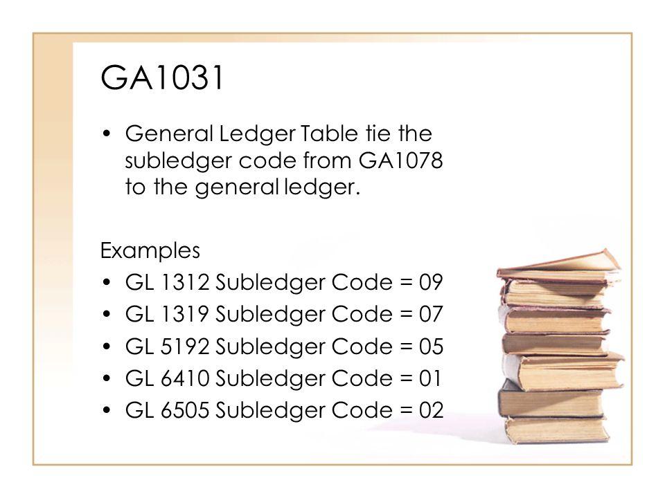 GA1031 GA1031-002 GENERAL LEDGER TABLE FYR=05-06 GENERAL LEDGER [1312] GL TITLE [CURRENT ACCTS REC ] GL STATUS [A] SUBLEDGER CODE [09] SUBLEDGER UPDATE IND [S] GL DR/CR IND [+] GL CLOSE IND [3] GL OPEN IND [S] GL FYR OPEN TRNS CD [S05] GL BIEN OPEN TRNS CD [S05] GL GROUP [1] GL CLASS [C] GL SUBCLASS [1] GL BDGT UPDATE IND [ ] AFRS GL REPORT IND [Y] RVSN DATE [050402] 9005:INQUIRY complete