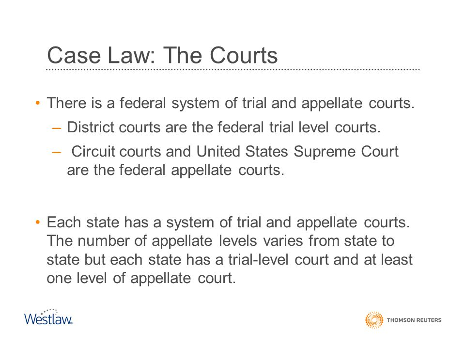 The Thirteen Federal Judicial Circuits The Federal Reporter cases are on Westlaw in the CTA and CTA- OLD databases.