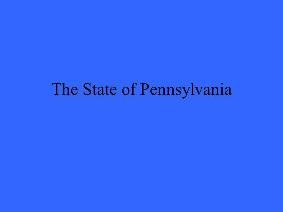 The State of Pennsylvania