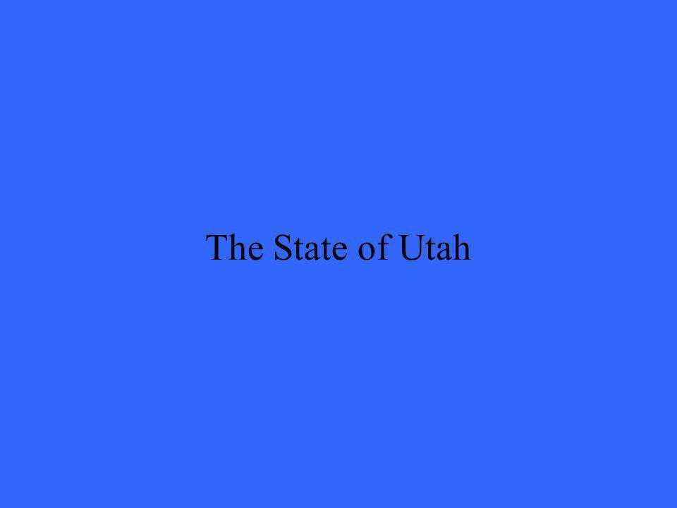 The State of Utah