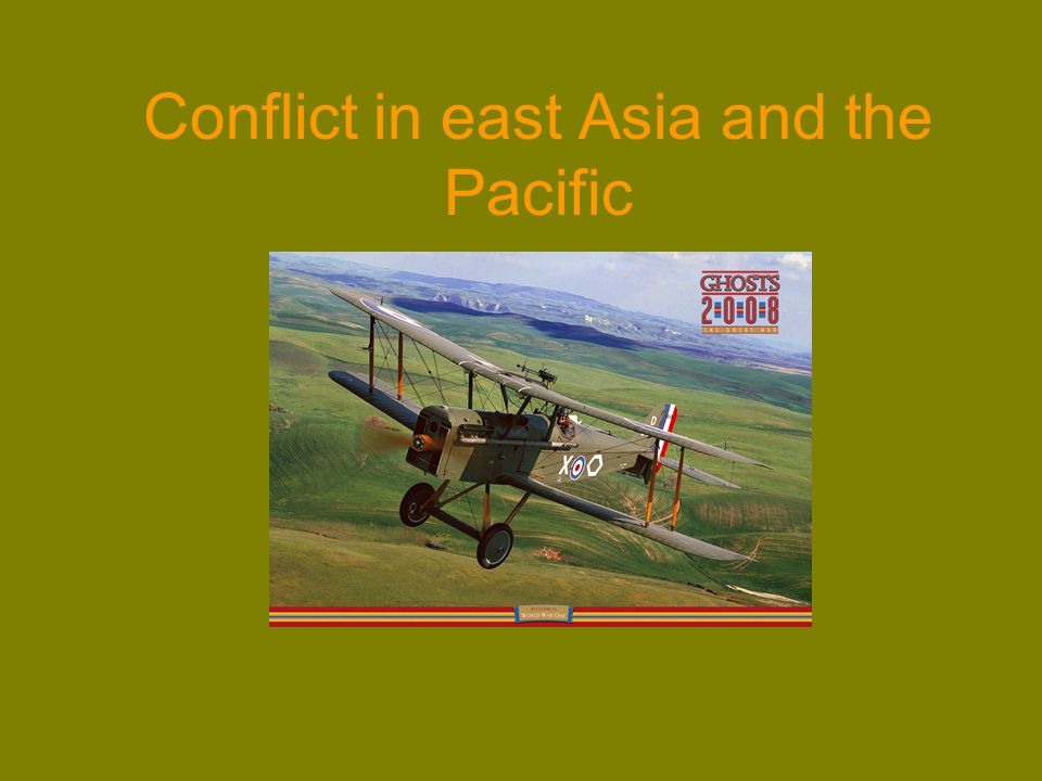 Conflict in east Asia and the Pacific