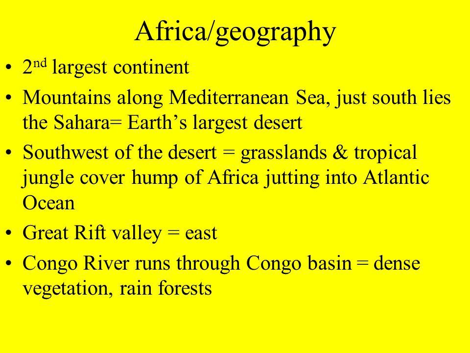 African Kingdoms East Africa Nubia  Kush Axum  Ethiopia West Africa Ghana Mali Songhai
