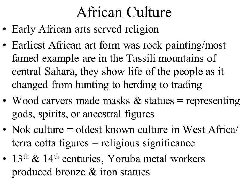 African Religious Beliefs Ashanti gods could not always be trusted, so people had to appease them to avoid their anger Some believed the creator god o