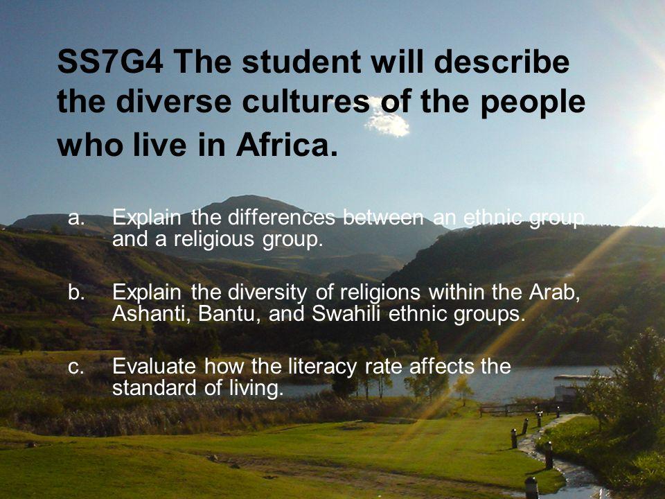 AFRICA Government/Civics Understandings