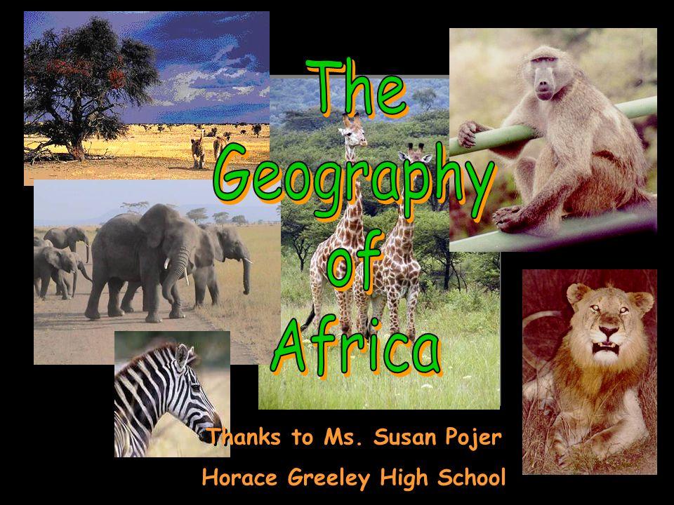 The Complete Topography Of AFRICA Nile River Congo River Niger River Mediterranean Sea Atlantic Ocean Indian Ocean Red Sea L.