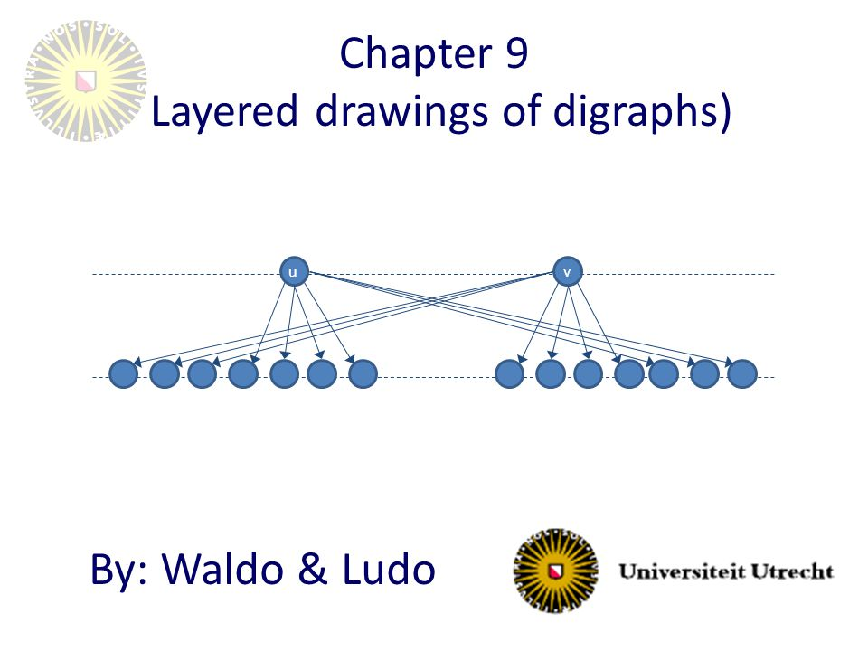 Chapter 9 (Layered drawings of digraphs) By: Waldo & Ludo uv