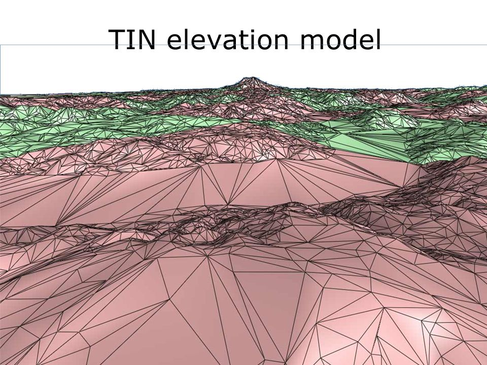 TIN elevation model