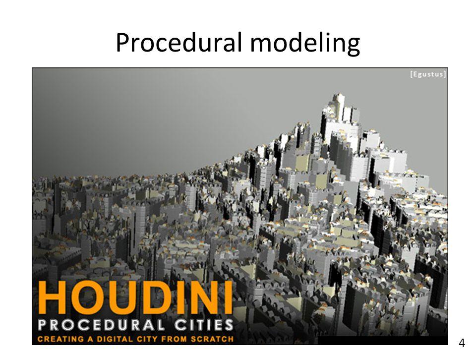 Procedural modeling 4