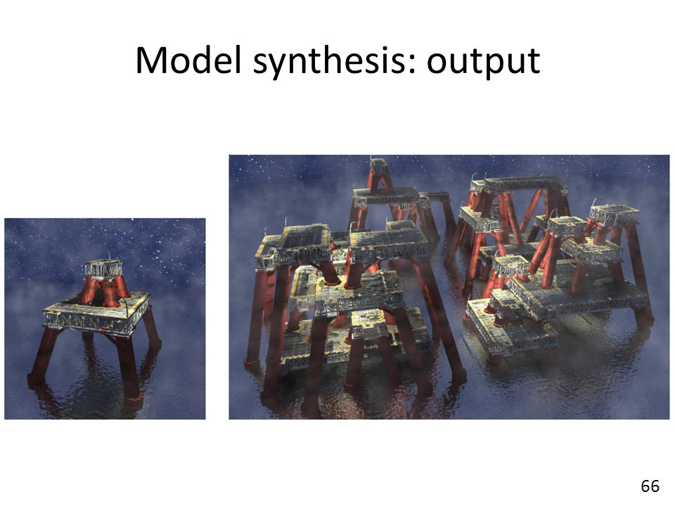 Model synthesis: output 66