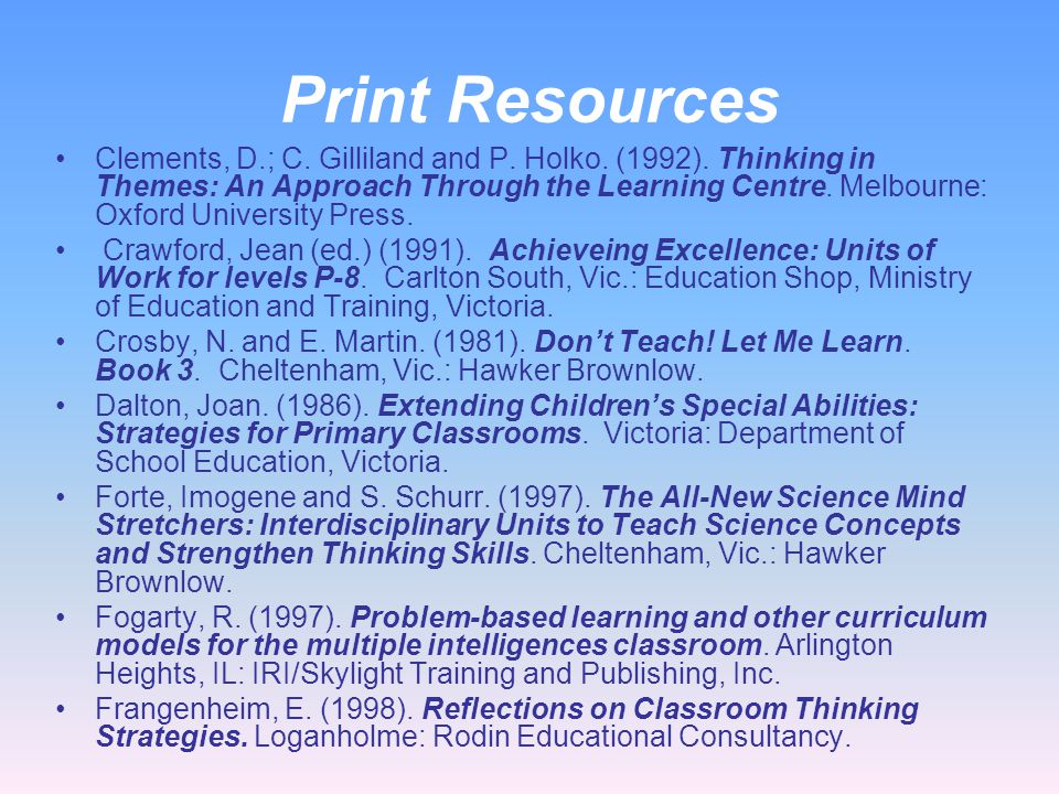 Bloom on the Internet http://www.tedi.uq.edu.au/Assess/Assessment/bloomtax.html http://www.acps.k12.va.us/hammond/readstrat/BloomsTaxonomy2.html http: