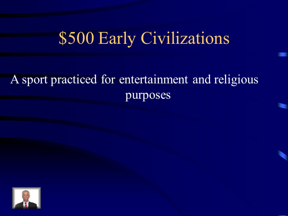 $400 Early Civilizations What were Palaces