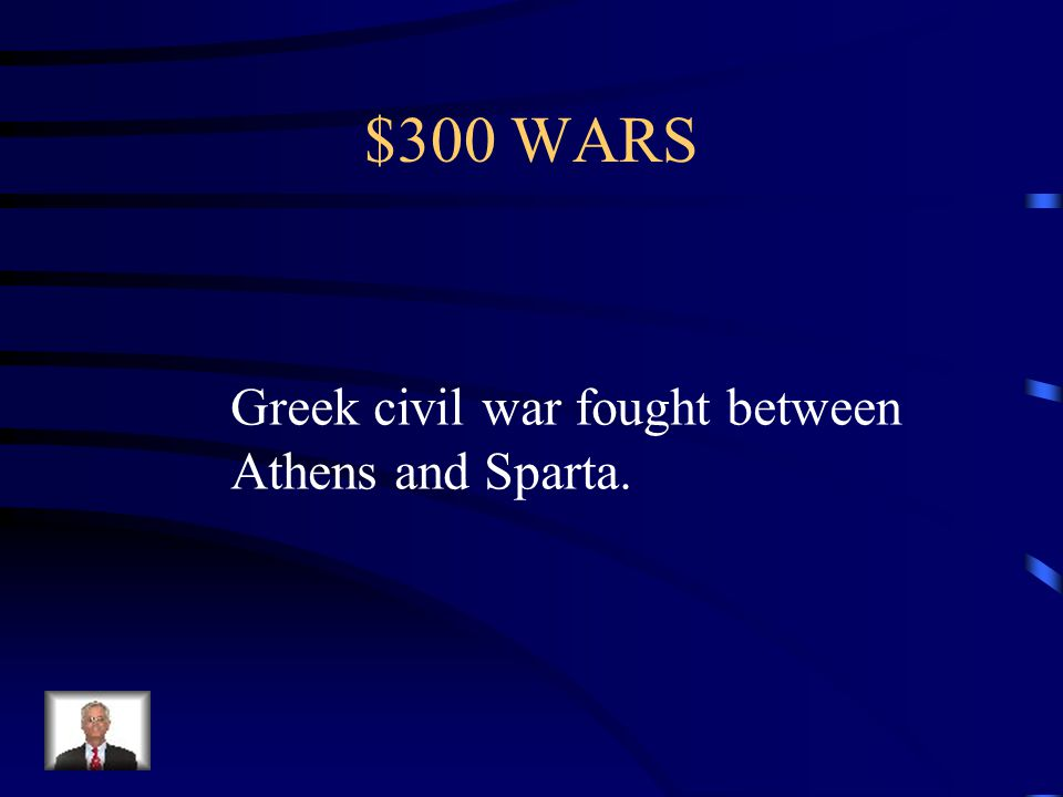 $200 WARS What is the Peloponnesian Wars