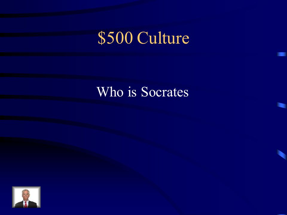 $500 Culture Philosopher tried and killed for his beliefs