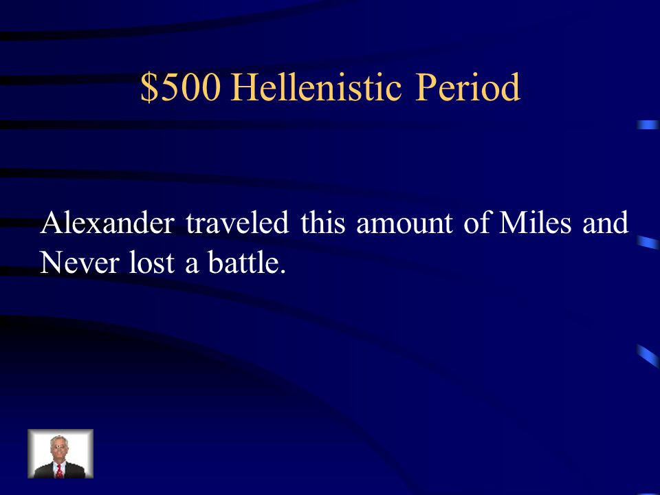 $400 Hellenistic Period What is Revenge, for burning Athens