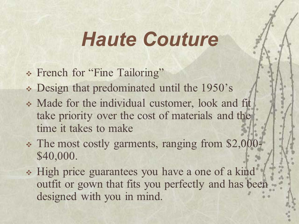 Fashion  The currently accepted prevailing style.  What are the current fashions now?