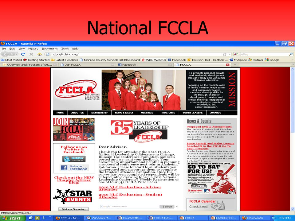 National FCCLA