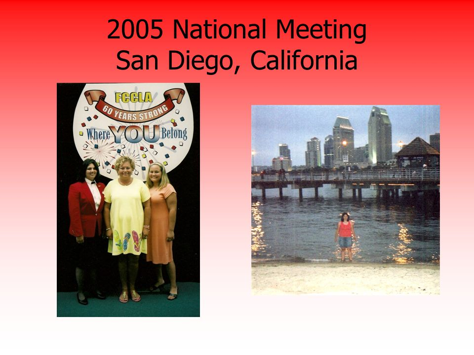 2005 National Meeting San Diego, California