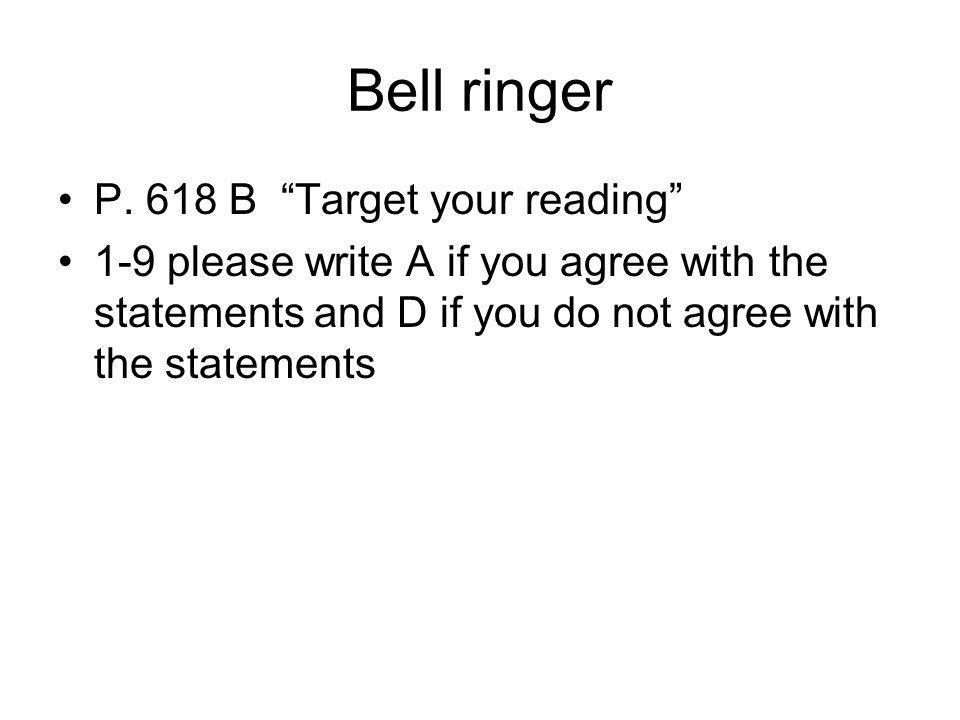 Bell ringer P.