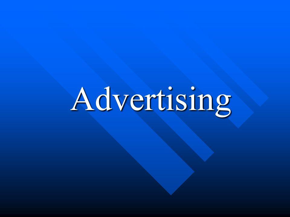 Advertising Advertising