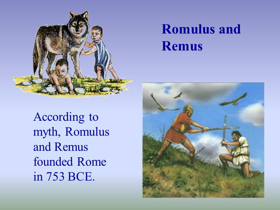 The city of Rome began as a group of small villages located on seven hills on the Tiber River.