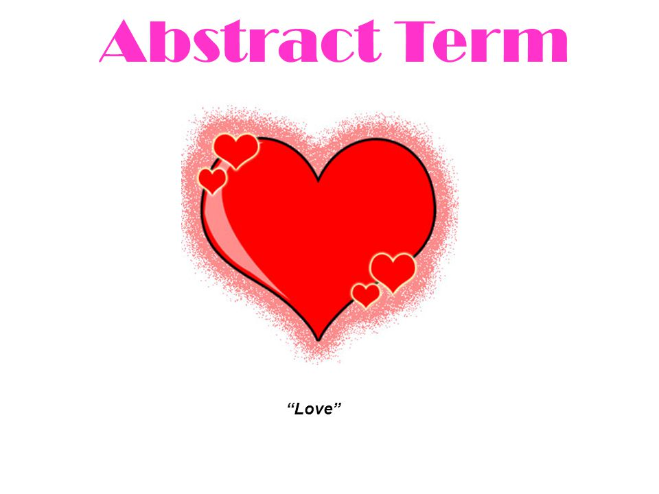 Abstract Term Love