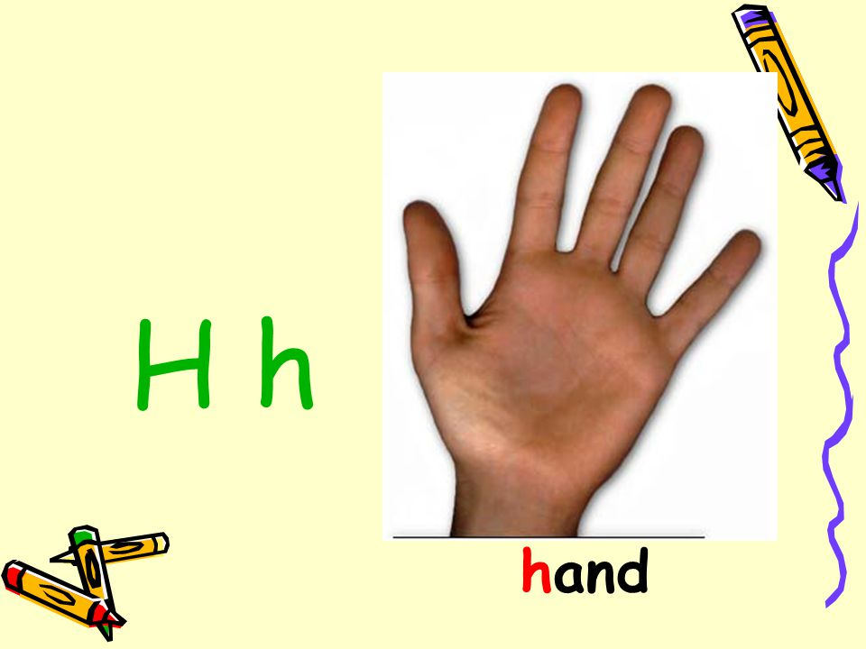 H h hand
