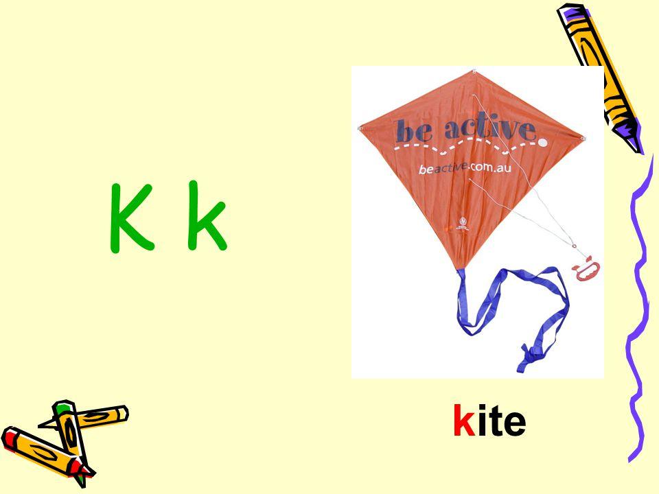 K k kite