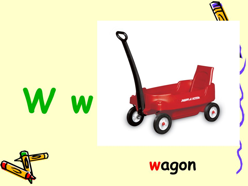 W w wagon
