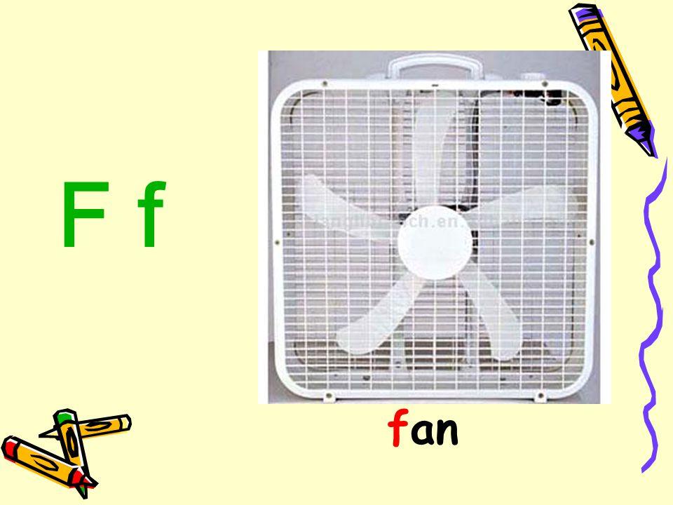F f fan