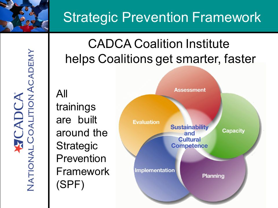 National Coalition Academy Essential Processes 1 for Implementing the Strategic Prevention Framework 1.
