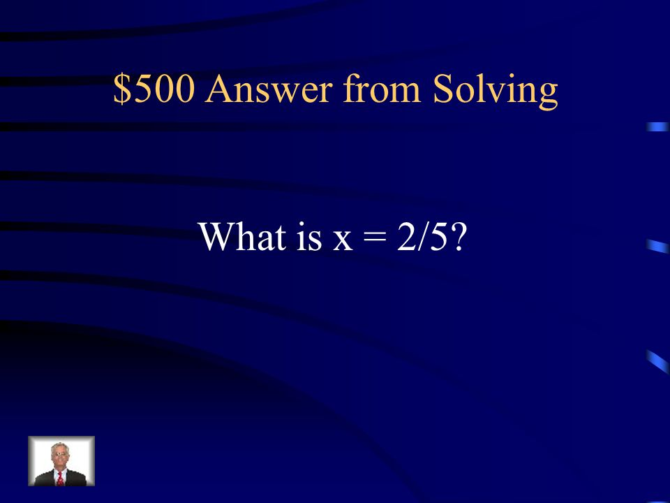 $500 Question from Solving The solution to 6(x - 2) = x + 3 - 13.