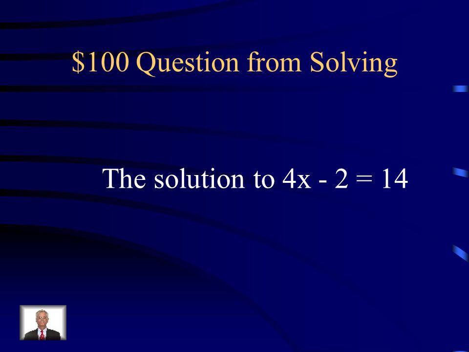 Jeopardy SolvingProportionsWordsLines Misc.