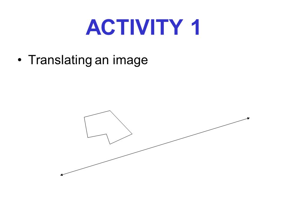 The Reflection of a Triangle ACTIVITY 3, PART 2