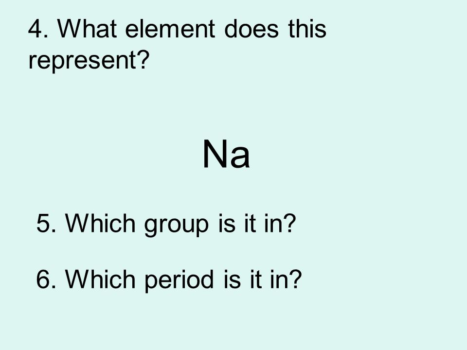 24. What's the formula? Water Sodium chloride Hydrogen Chlorine Sodium hydroxide