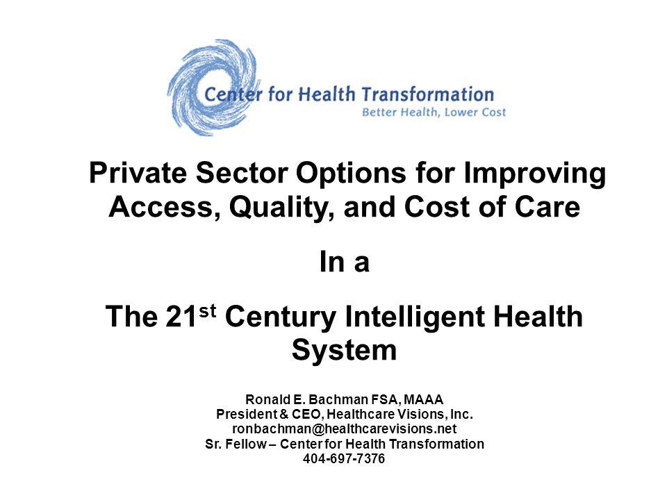 11 Mega Trends Leading to Healthcare Consumerism 1.