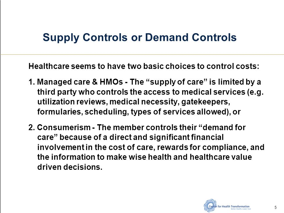 26 Consumer-centric Medicaid The 21 st Century Medicaid Act Medicaid should be divided into three distinct sub-programs, each administered separately with its own rules and structures.