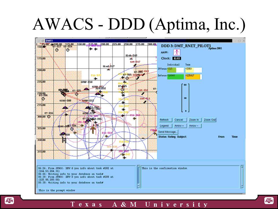 AWACS - DDD (Aptima, Inc.)