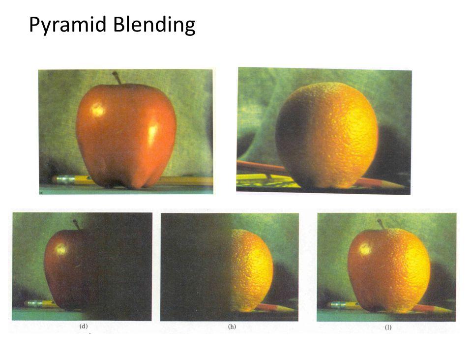 Pyramid Blending
