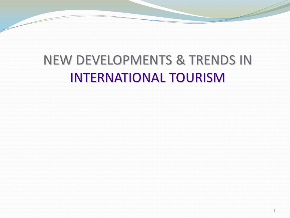 Cruise Tourism: The future design and technical innovation More design and technical innovation in cruise ships recreational opportunities More recreational opportunities on board cruise ships New cruise regions, as traditional areas become congested New cruise locations New cruise locations cruise industry and environmentalists Greater conflict between the cruise industry and environmentalists 62