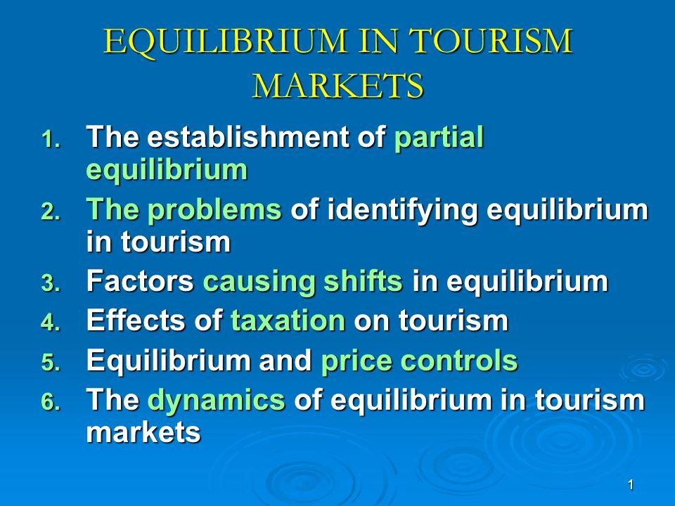 12 Figure 4.2: Equilibrium in tourism Price D D SPe Quantity QeQc S1S1S1S1 D1D1D1D1 0