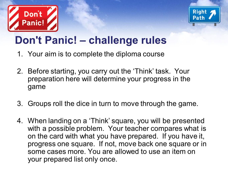 Don t Panic.
