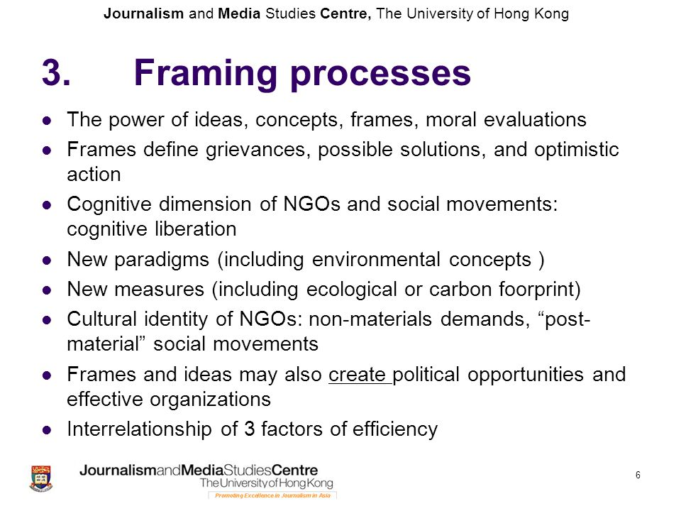Journalism and Media Studies Centre, The University of Hong Kong 3.