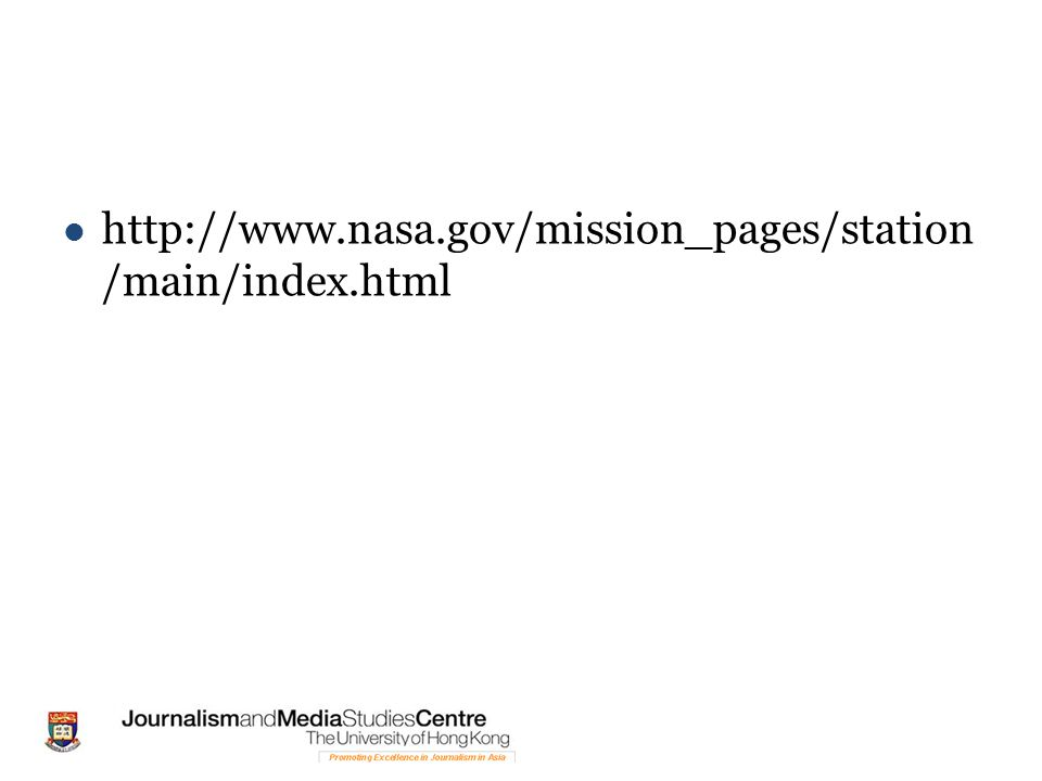 http://www.nasa.gov/mission_pages/station /main/index.html