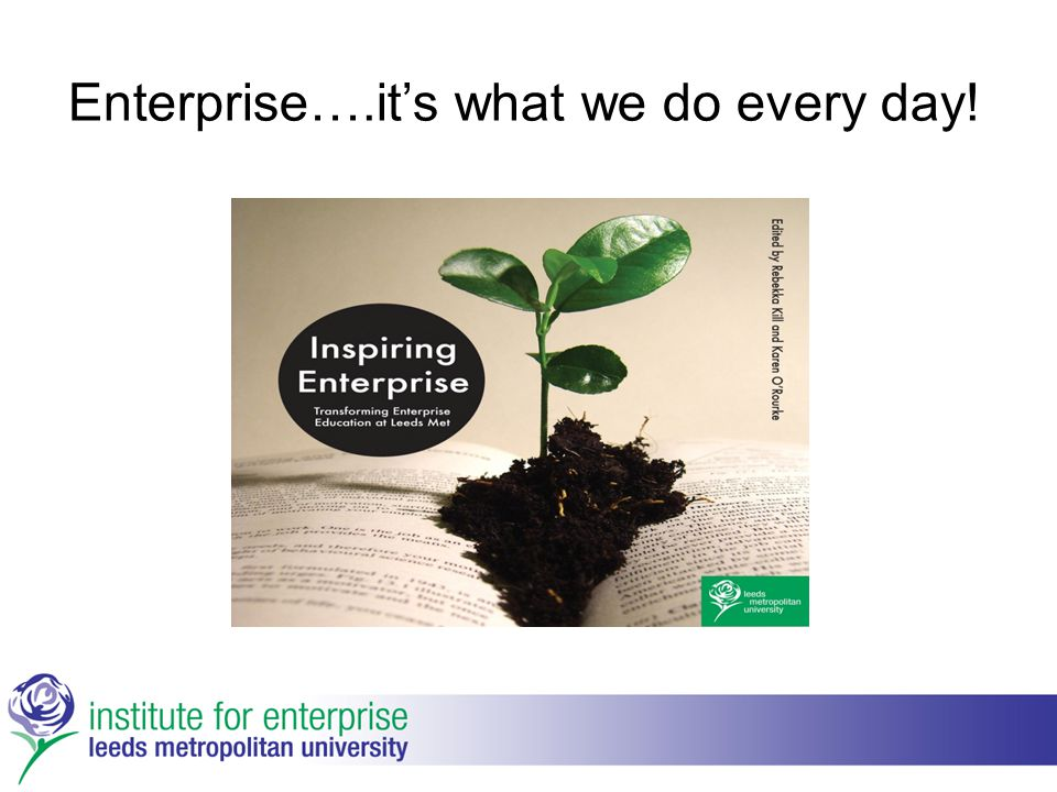 Enterprise….it's what we do every day!