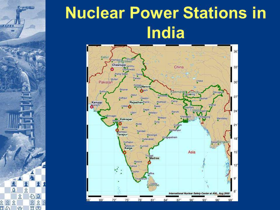 Nuclear Power Stations in India